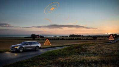 Los vehículos Volvo se comunicarán entre sí para evitar accidentes